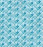 Blauwe vierkantenachtergrond Royalty-vrije Stock Afbeeldingen