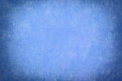 Blauwe vignetachtergrond Stock Foto's