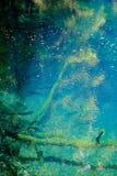 Blauwe vijver in Juniko, Japan royalty-vrije stock afbeelding