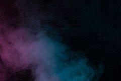 Blauwe violette waterdamp Royalty-vrije Stock Afbeeldingen