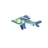 Blauwe vissen vector illustratie