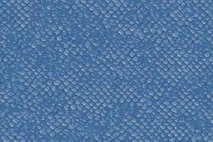 Blauwe vissen of lezard schalen voor een naadloze geweven achtergrond vector illustratie