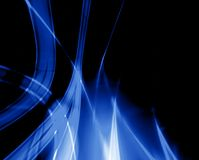 Blauwe vlam Royalty-vrije Stock Fotografie