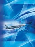 Blauwe vlieg Stock Fotografie
