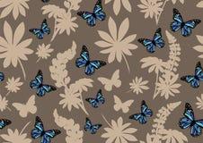 Blauwe vlinders Royalty-vrije Stock Afbeeldingen