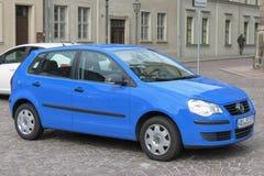 Blauwe Volkswagen-auto Royalty-vrije Stock Foto