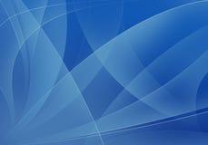 Blauwe vormenachtergrond Royalty-vrije Stock Foto