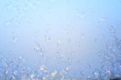 Blauwe vorstachtergrond Stock Foto's