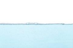 Blauwe water gespleten abstracte achtergrond Royalty-vrije Stock Afbeelding