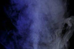Blauwe waterdamp Stock Afbeeldingen