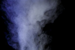 Blauwe waterdamp Royalty-vrije Stock Afbeelding