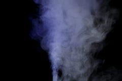 Blauwe waterdamp Stock Afbeelding