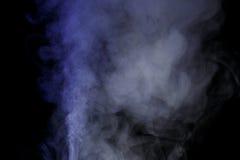 Blauwe waterdamp Royalty-vrije Stock Foto