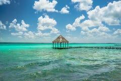 Blauwe wateren Royalty-vrije Stock Fotografie