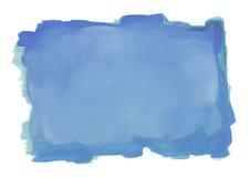 Blauwe waterkleur vector illustratie