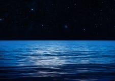 Blauwe Waterruimte Royalty-vrije Stock Foto's