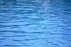 Blauwe watertextuur Royalty-vrije Stock Foto