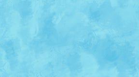 Blauwe Waterverf Achtergrond Naadloze Tegeltextuur Stock Fotografie
