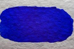 Blauwe waterverfachtergrond Stock Fotografie