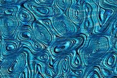 Blauwe weefsel geweven achtergrond Royalty-vrije Stock Afbeelding