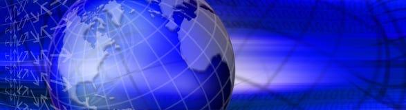 Blauwe wereld vector illustratie