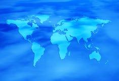 Blauwe wereld Royalty-vrije Stock Afbeeldingen