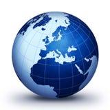 Blauwe wereld Royalty-vrije Stock Afbeelding