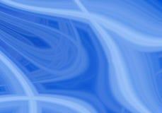 Blauwe werveling stock illustratie