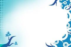 blauwe wijn, abstrack achtergrond Royalty-vrije Stock Foto