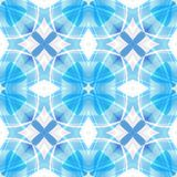 Blauwe witte abstracte textuur Textieldrukpatroon Eenvoudige Illustratie Als achtergrond De steekproef van het de stoffenontwerp  stock illustratie
