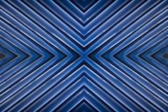Blauwe, Witte & Zwarte Abstracte Achtergrond Stock Fotografie