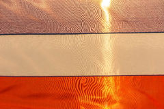 Blauwe, witte, rode vlagachtergrond Royalty-vrije Stock Foto's
