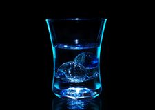 Blauwe wodka Royalty-vrije Stock Fotografie