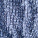 Blauwe wol Royalty-vrije Stock Afbeelding