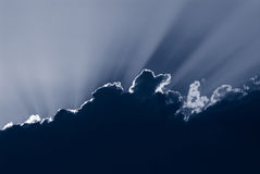 Blauwe wolk Royalty-vrije Stock Fotografie