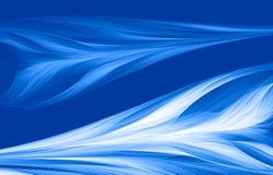 Blauwe zachtheidsachtergrond Royalty-vrije Stock Foto