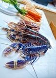 Blauwe Zeekreeft Stock Foto's