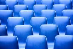 Blauwe zetels Stock Foto's