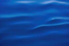 Blauwe zijde Royalty-vrije Stock Foto's