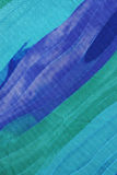 Blauwe zijdeachtergrond. royalty-vrije stock fotografie