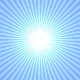 Blauwe Zon Stock Foto