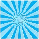Blauwe zon Stock Afbeelding