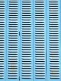 Blauwe zonneblinden Royalty-vrije Stock Afbeeldingen