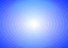 Blauwe Zonneschijnachtergrond Royalty-vrije Illustratie