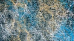 Blauwe, zwarte en bruine het ontwerpachtergrond van het textuurbehang Royalty-vrije Stock Foto's