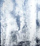 Blauwe zwarte Geschilderde grunge textuur Stock Fotografie