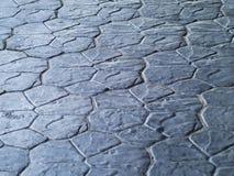 Blauwgrijze steenvloer Stock Afbeeldingen