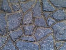 Blauwgrijze steenvloer Stock Afbeelding