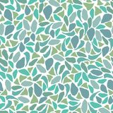 Blauwgroen mozaïek vector illustratie