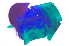Blauwgroen purper abstract wit Royalty-vrije Stock Afbeeldingen